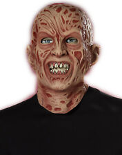 Freddy Krueger 3/4 Latex Adult Mask Nightmare On Elm Street Halloween Mask
