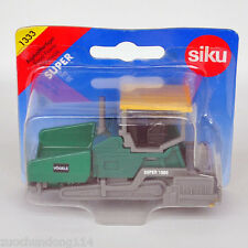 BOXED 1/87 1/100 SIKU VOGELE SUPER 1900 CONSTRUCTION ROAD PAVER  DIECAST