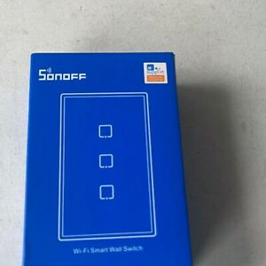 Sonoff TX T2US3C 433MHz Remote Control Smart Scene Wi-Fi Smart Wall Switch White