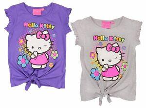 Hello Kitty T-Shirt kurzarm Shirt 92 98 104 110 116 122 128 134 Mädchen Tunika