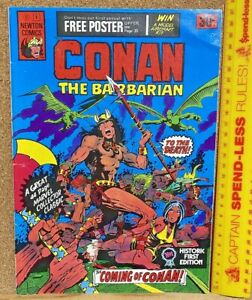 VINTAGE 1975 CONAN THE BARBARIAN #1 NEWTON COMICS AUSSIE MARVEL 100% COMPLETE!!!