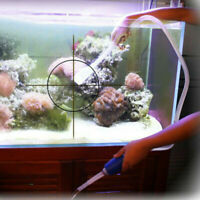 Aquarium Reinigung Vakuum Wasserwechsel Kies Sand Reiniger Pumpe I8S3 R5J0