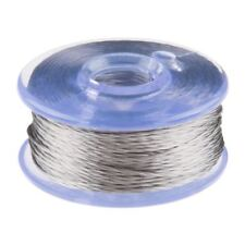 Smooth Conductive Thread Bobbin - 12m (Stainless Steel)