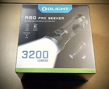 Olight R50 Pro Seeker 3,200 Lumen Rechargeable Powerful Strong 'LED' Torch.