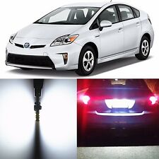 Alla Lighting License Plate Light 168 2825L LED Bulbs for Toyota Prius C/ V RAV4