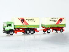 Herpa Man Camión Tren de Carretera Expedición Wandt Brunswick 1:87 / H0