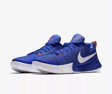 "Nike Zoom Live II ""BLUE"" Basketball Trainers UK Size 7 EUR 41, CM 26, AH7566 400"
