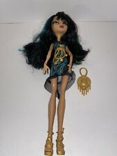 Monster High Cleo de Nile Frights, Camera, Action Doll OOB