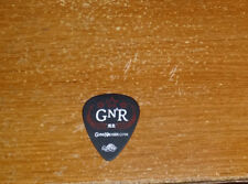"Guns N' Roses Ron ""Bumblefoot"" Thal Guitar Pick 2012 Tour GNR"