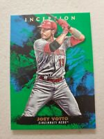 JOEY VOTTO 2021 TOPPS INCEPTION GREEN PARALLEL BASE CARD #30 CINCINNATI REDS