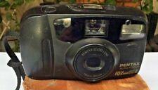 Pentax IQZoom 80-E Auto Focus 35mm Film Camera 38-80mm Zoom With Flash