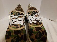 Authentic Adidas NMD R1 Bape Camo Green BA7326 size 7