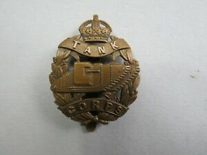Military  Badge The Tank Corps 1917-24 Pattern  British Army