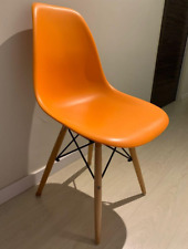 Orange good looking Dining Study Chair with a