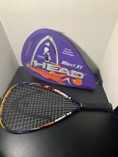 Head Blast Xl Racquetball Racquet Fused Graphite Technology 3 5/8 Grip