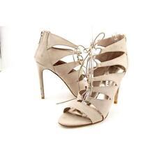 Sandalias y chanclas de mujer de tacón alto (más que 7,5 cm) de color principal crema Talla 39