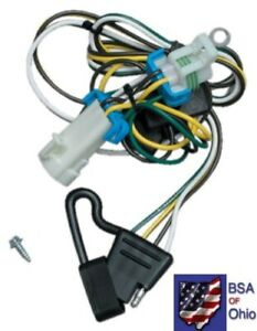 Trailer Hitch Wiring Tow Harness For Chevrolet S-10 Pickup 2002 2003 2004