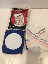 VINTAGE NOS DEFENDER SKATEBOARD VOLLEYBALL SPORTS KNEE PADS BLUE SIZE XS