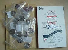 More details for a-z 10p full set uncirculated ten pence a to z coins full alphabet + album