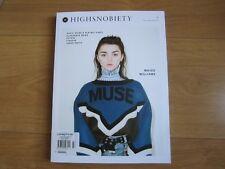 Highsnobiety Magazine F/W 2017 Maisie Williams,Future,Gucci Mane & Playboi Carti