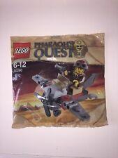 Rare LEGO PHARAOH'S QUEST: Desert Glider Polybag Set 30090