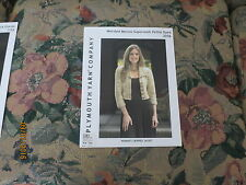 Plymouth Yarn Company Worsted Merino  Kettle Dyed Woman's Cropped Jacket #2056