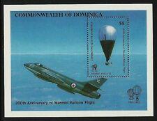 Aviation Sheet Caribbean Stamps