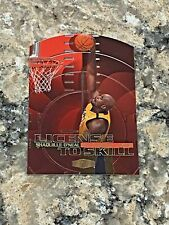 1999-00 Flair Showcase License to Skill Shaquille O'Neal #2LS LA Lakers NBA Card