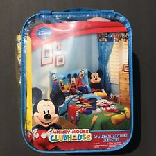 Mickey Mouse Clubhouse Toddler Bed Set 4 Pieces Quilt Bedding New In Package