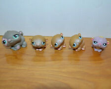 LITTLEST PET SHOP HAMSTER MINI FIGURE LOT LPS HASBRO CUTE TOYS H2