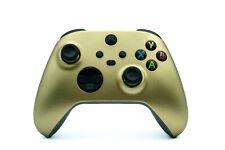 MICROSOFT Xbox Series S + X Wireless Controller Shock - Custom Gold Grün Silber