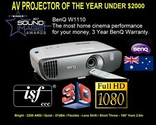 BenQ W1110 Full HD Home Cinema Projector NEW with 3 Year Warranty