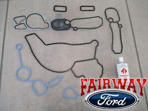 99 thru 03 F250 F350 FSD OEM Ford 7.3 Diesel Powerstroke Front Cover Gasket Set