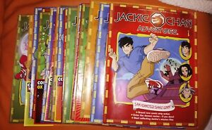 JACKIE CHAN ADVENTURES MAGAZINE COMIC ISSUES 1 - 20 NICE CONDITION FREE UK POST