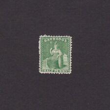 BARBADOS 1875, Sc# 46, CV $100, Wmk 1, Perf 12, MH