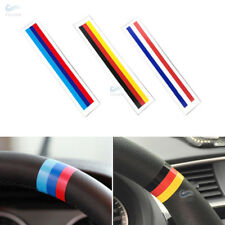 2x Car Styling Steering Wheel Grill Bar Strip Decal Sticker M-Color Germany Flag
