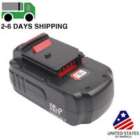 2000mah New Battery For PORTER-CABLE PC18B 18-Volt NiCd Cordless Battery Pack
