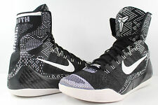 Nike Zoom Kobe IX Elite BHM 9 Black White Black History Month Size 10