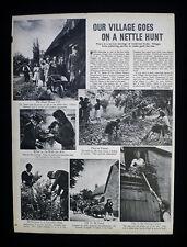 ISLIP VILLAGE OXFORDSHIRE HERB GATHERING DR WILLIAM OWEN JAMES BOTANY 1942