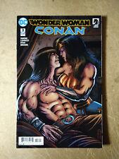 WONDER WOMAN CONAN #3 FIRST PRINT DC COMICS (2018) DARK HORSE COMICS