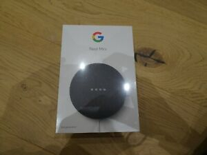 Google Nest Mini 2nd Generation - Charcoal - Brand New and Unopened