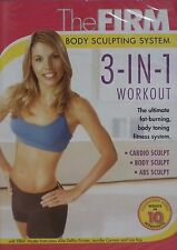 The Firm (DVD) Body Sculpting System - 3 in 1 Workout! Cardio, Abs & Body *NEW*