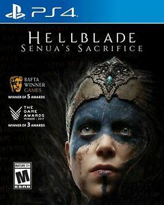 Hellblade: Senua's Sacrifice PS4 (Sony PlayStation 4, 2017) Brand New