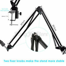 Microphone MIC Suspension Extension Arm Stand Bracket Broadcast Holder Rack