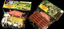 Granja zoo set figuras de animales OVP 70er hong kong granja animals Wild Duo header