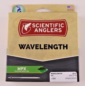 Scientific Anglers Wavelength MPX Fly Line WF8F Amber Green ON SALE 123563