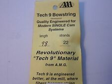 """NEW Allied Archery AMG Tech 9 Bowstring Single Cam 98"""" 22 Strand AAA More Listed"""