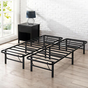 NEW Zinus QUEEN Bed Frame DOUBLE SINGLE KING Heavy Duty Metal Foldable Base