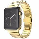 316L Stainless Steel Link Bracelet Band Strap for Apple Watch 38 42 Series 3 2 1