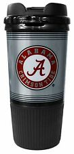NCAA 16oz Team Logo Platinum Gripper Travel Tumbler Coffee Mug